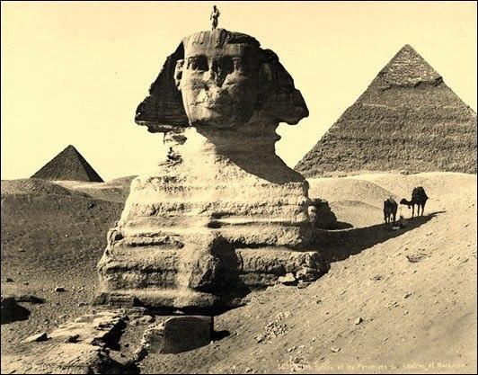 zagadki egipetskogo sfinksa chem dalshe kopayut tem ih bolshe Загадки египетского Сфинкса: чем дальше копают, тем их больше