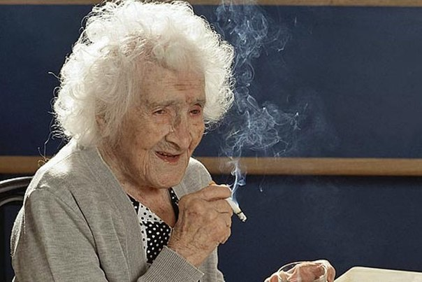 janna kalmon ustanovila mirovoi rekord prodoljitelnosti jizni 122 goda Жанна Кальмон установила мировой рекорд продолжительности жизни — 122 года