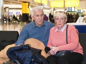 suprugi iz londona vynujdeny jit v aeroportu hitrou Супруги из Лондона вынуждены жить в аэропорту Хитроу