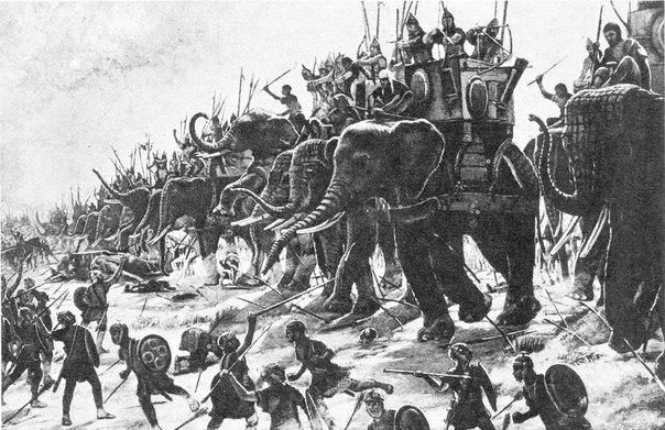 samye neobychnye voennye taktiki v istorii Самые необычные военные тактики в истории