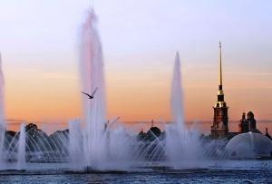 v sankt peterburge otkryvaetsya sezon fontanov В Санкт Петербурге открывается сезон фонтанов