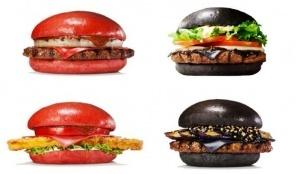 yaponskoe nou hau raznocvetnye burgery Японское ноу хау: разноцветные бургеры