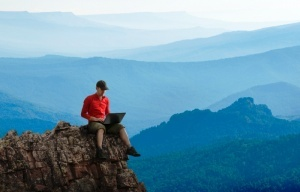 na vershine gory fudzi poyavilsya Wi Fi На вершине горы Фудзи появился Wi Fi