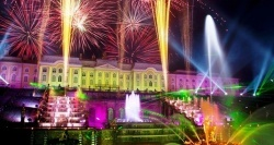 petergof gotovitsya k festivalyu fontanov Петергоф готовится к фестивалю фонтанов
