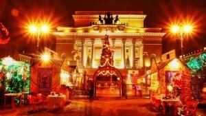 glavnaya rojdestvenskaya yarmarka otkrylas v sankt peterburge Главная рождественская ярмарка открылась в Санкт Петербурге