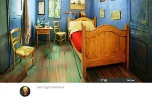 pojit v komnate kak na kartine van goga mojno za 10 dollarov Пожить в комнате как на картине Ван Гога можно за 10 долларов