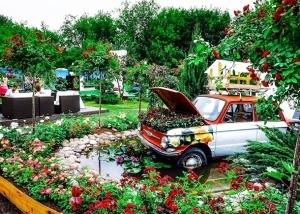 festival cvetov proidet v parke gorkogo Фестиваль цветов пройдет в Парке Горького