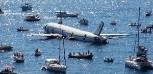 v turcii zatopili samolet dlya privlecheniya turistov В Турции затопили самолет для привлечения туристов