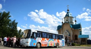 besplatnyi ekskursionnyi avtobus prokatit turistov po kirovu Бесплатный экскурсионный автобус прокатит туристов по Кирову