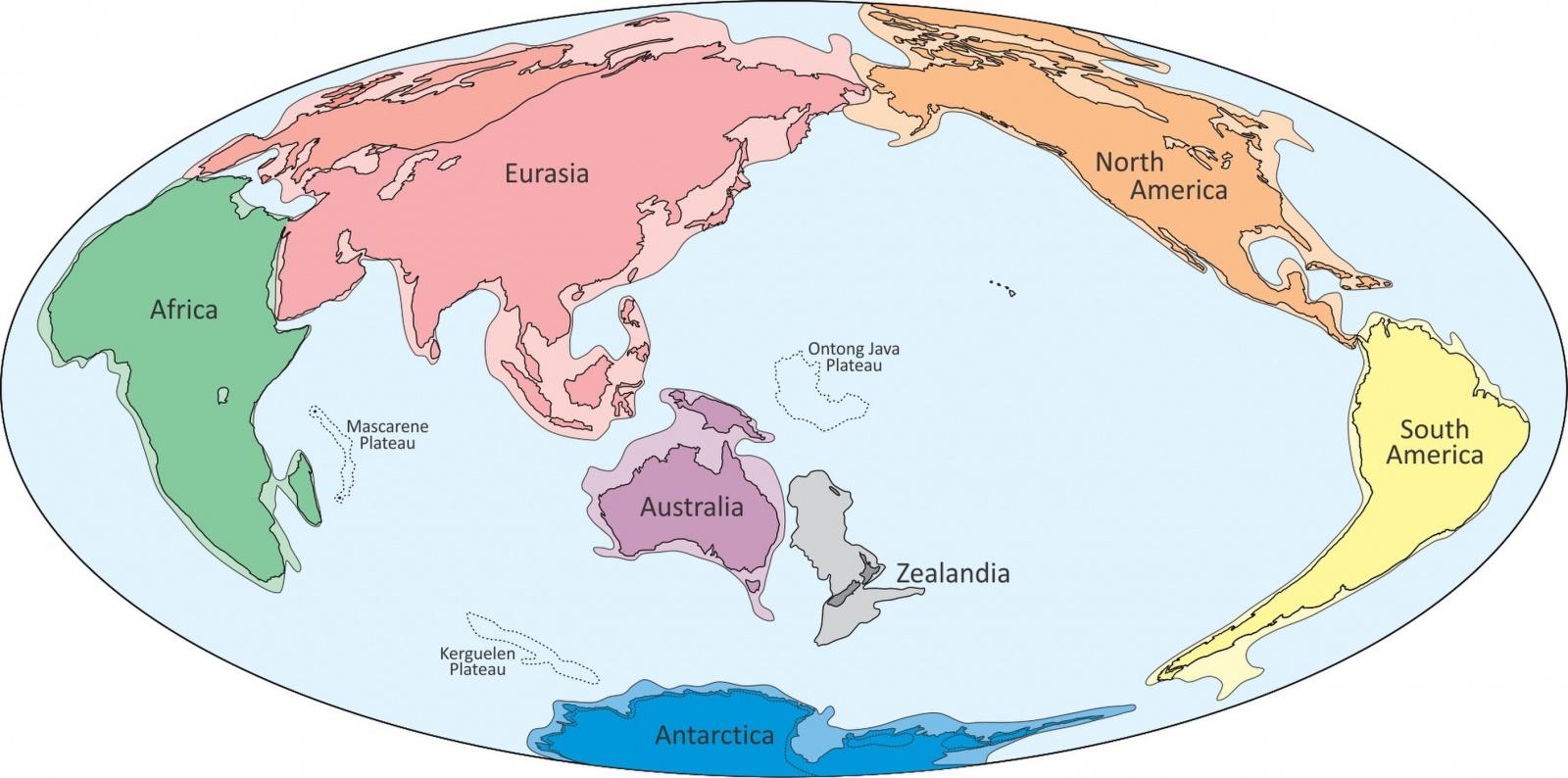 na zatonuvshem vosmom kontinente nashli sledy jizni На затонувшем восьмом континенте нашли следы жизни
