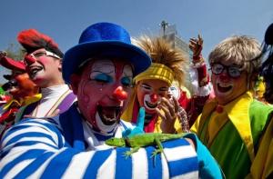 luchshie klouny sobralis v madride Лучшие клоуны собрались в Мадриде