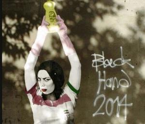 ostrosocialnye graffiti navodnili ulicy tegerana Остросоциальные граффити наводнили улицы Тегерана