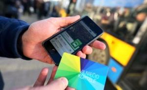 proezd v obshestvennom transporte vilnyusa teper mojno oplatit so smartfona Проезд в общественном транспорте Вильнюса теперь можно оплатить со смартфона