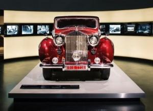 v myunhene otkrylas vystavka Rolls Royce В Мюнхене открылась выставка Rolls Royce