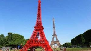 v parije poyavilas eshe odna eifeleva bashnya В Париже появилась еще одна Эйфелева башня