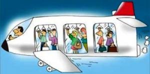 v samoletah mogut poyavitsya stoyachie mesta В самолетах могут появиться стоячие места
