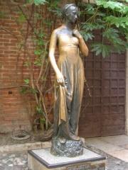 В Вероне туристы стерли Джульетте грудь