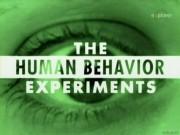 the human behavior experiments Опыты над поведением человека (The Human Behaviour Experiments)