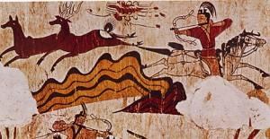 goguryeo tomb mural 300x155 Гробницы Когурё   на страже империи