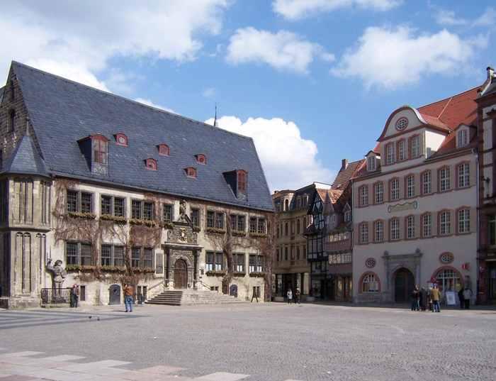 Quedlinburg Markt Древний Кведлинбург