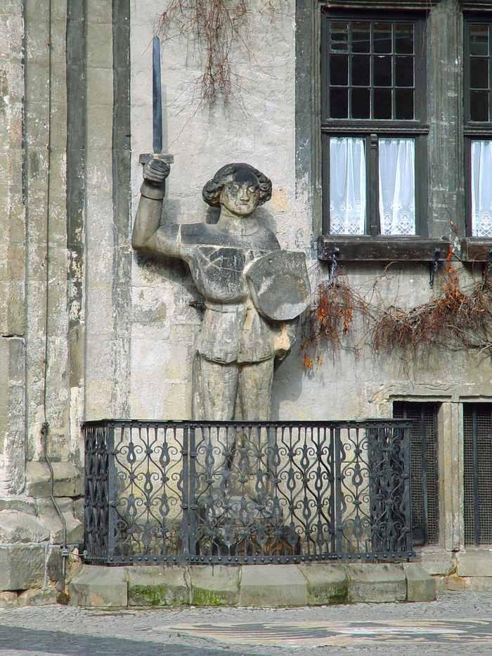 Quedlinburg Roland Древний Кведлинбург