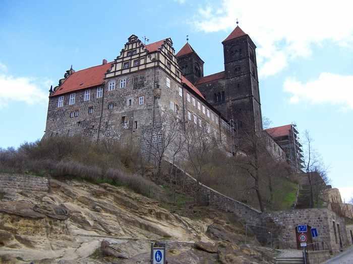 Quedlinburg Schlossberg Древний Кведлинбург